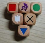 Board Game Accessory: Commands & Colors Ancients: Wooden Dice