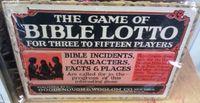 Board Game: Bible Lotto