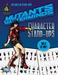 RPG Item: Mutants & Masterminds Character Stand-Ups