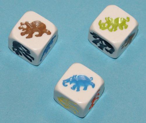 Board Game: Zoo Yatzy