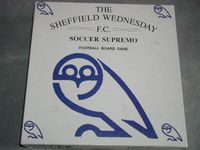 Board Game: The Sheffield Wednesday Soccer Supremo