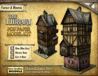 RPG Item: Library Paper Model