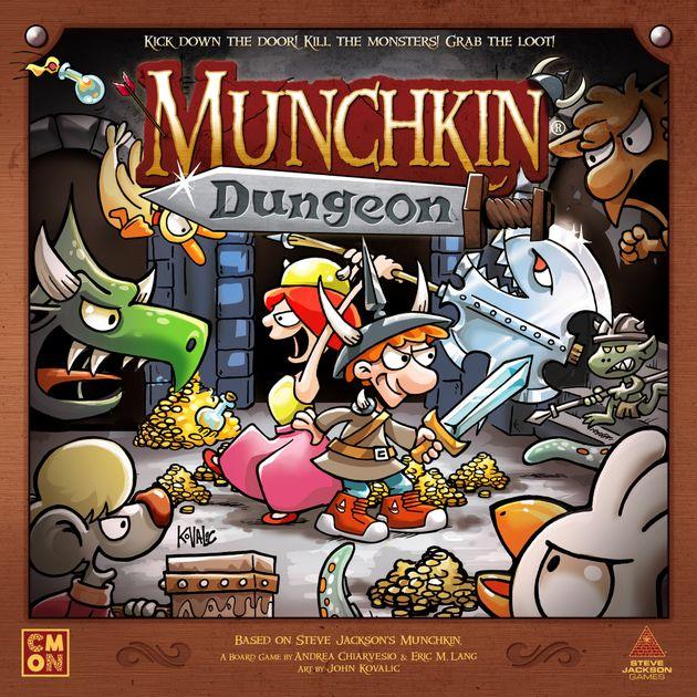 Munchkin Dungeon Board Game Boardgamegeek