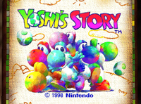 Video Game: Yoshi's Story