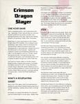 RPG Item: Crimson Dragon Slayer 1.11