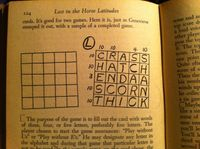 Board Game: Word Squares