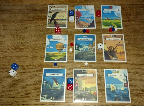 Board Game: 12 Patrols