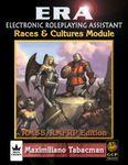 RPG Item: ERA: Races & Cultures Module (RMSS/FRP)