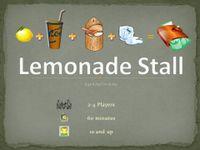 Board Game: Lemonade Stall
