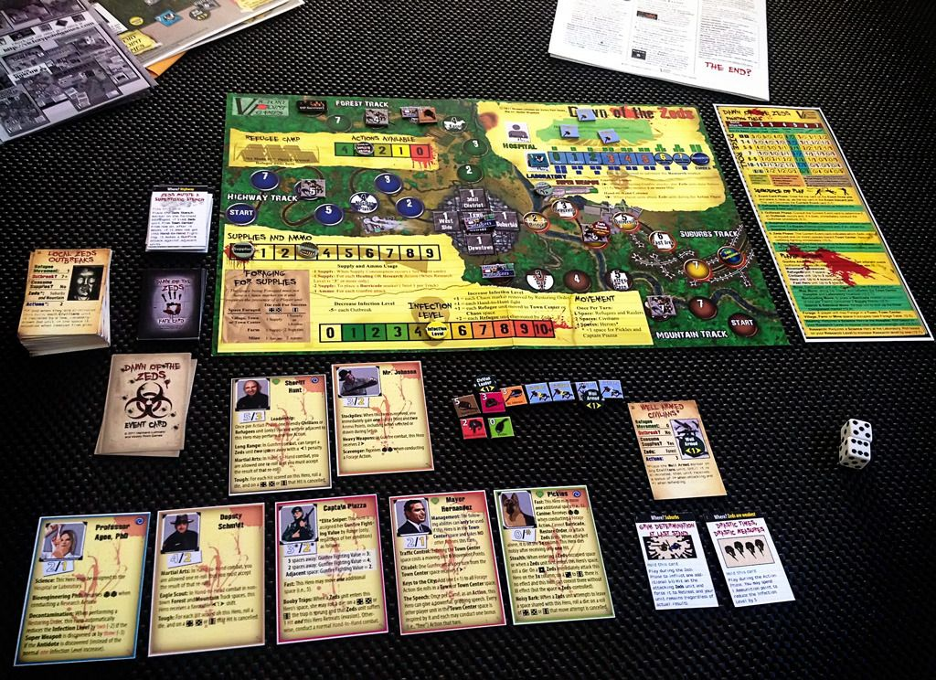 Board Game: Dawn of the Zeds