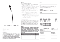 RPG Item: Whispering Willows Themebook: Thaumaturgist