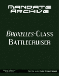 RPG Item: Mandate Archive: Bruxelles-class Battlecruiser