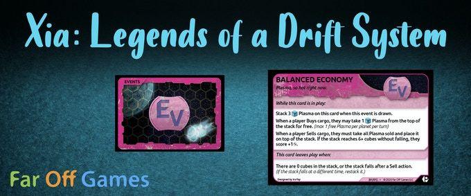 Xia: Balanced Economy Promo Card