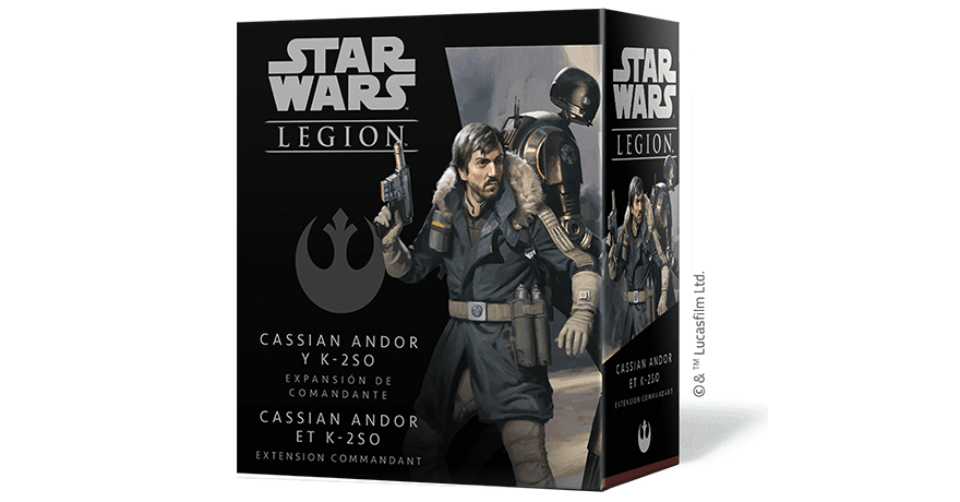 Star Wars: Legion – Cassian Andor and K-2SO Commander Expansion