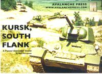 Board Game: Kursk, South Flank: A Panzer Grenadier Game