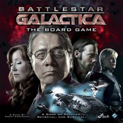 Battlestar Galactica: The Board Game Cover Artwork