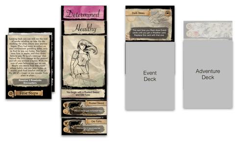 Board Game: Pocket Adventure