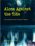 RPG Item: Alone Against the Tide (1st Edition)