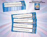Board Game Accessory: Wits & Wagers Family Edition Question Pack