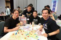 Game in progress. (Command Magazine Japan, CMJ chief  editor - 中黑靖先生)