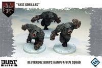"Board Game: Dust Tactics: Blutkreuz Korps Kampfaffen Squad – ""Axis Gorillas"""