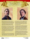 RPG Item: Recurring NPC: Lord Ranulf & Lady Elowhere