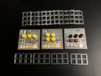 Board Game Accessory: Power Grid: Power Plant Trays