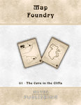 RPG Item: Map Foundry 01: The Cave in the Cliffs