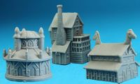 Board Game Accessory: 12 Realms: Buildings Pack