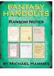 RPG Item: Fantasy Handouts: Ransom Notes
