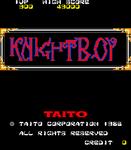 Video Game: Knight Boy