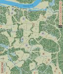 The game map as published, with areas. (Large, from the Columbia web site.)