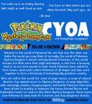 RPG Item: Pokémon Mystery Dungeon CYOA