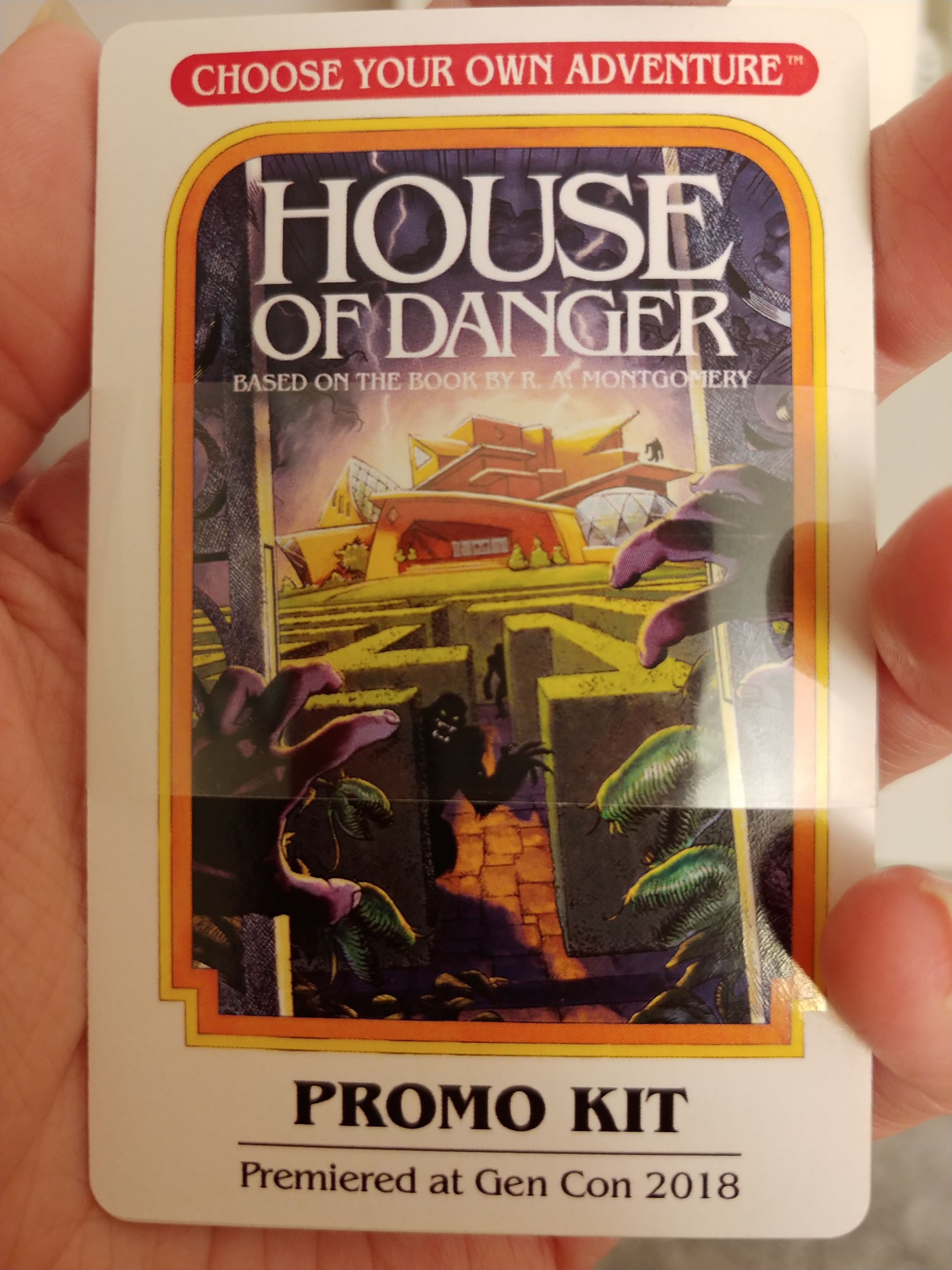 Choose Your Own Adventure: House of Danger – Game Convention Promo Kit