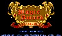 Video Game: Magic Sword