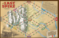 Gameboard for 2015 edition of the Last Spike
