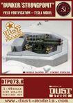 Board Game: Dust Tactics: SSU Fortification – Heavy Tesla Bunker / Strongpoint