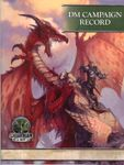RPG Item: DM Campaign Record