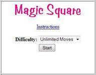 Video Game: Magic Square