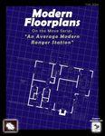 RPG Item: Modern Floorplans: An Average Modern Ranger Station
