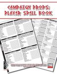 RPG Item: Campaign Props: Player Spell Book