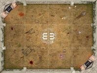 Board Game Accessory: Mage Wars: Arena Playmat – Salenia