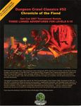 RPG Item: DCC #052: Chronicle of the Fiend