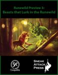 RPG Item: Runewild Preview 3: Beasts that Lurk in the Runewild