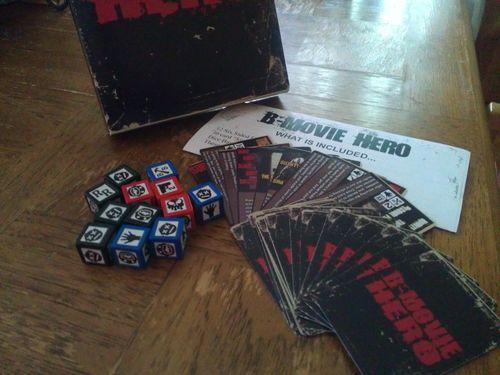Board Game: B-Movie Hero