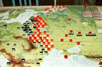 May II 1941: Dry weather allow Barbarossa to begin early - but against triple Soviet lines.