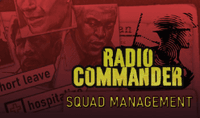 Video Game: Radio Commander: Squad Management