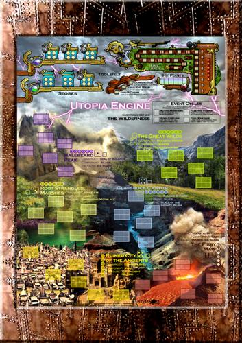 Board Game: Utopia Engine