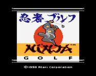 Video Game: Ninja Golf