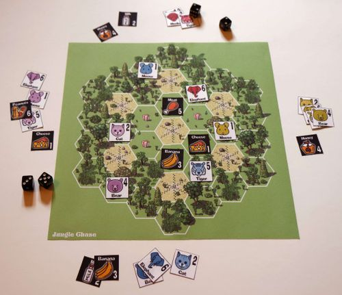 Board Game: Jungle Chase